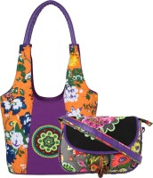Anekaant Hand-held Bag(Multicolor)