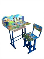View kris toy ai34 Solid Wood Study Table(Finish Color - blue) Furniture (Kris toy)