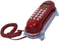 View vepson KX-T666CID Telephone Corded Landline Phone(Red) Home Appliances Price Online(vepson)