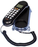 View vepson KX-T666CID Telephone Corded Landline Phone(Black) Home Appliances Price Online(vepson)