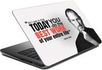 View ezyPRNT Sparkle Laminated Steve Jobs Motivation Quote b (15 to 15.6 inch) Vinyl Laptop Decal 15 Laptop Accessories Price Online(ezyPRNT)