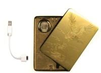 View Pia International EAGLE GOLDEN RECHAREABLE USB FIRST QUALITY Cigarette Lighter(Gold) Laptop Accessories Price Online(Pia International)