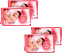Johnson's Johnson's Baby Skincare Wet Wipes 80n (4Pkt)(4 Pieces)