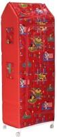 View baba ji enterprises PVC Collapsible Wardrobe(Finish Color - chilly red) Furniture (baba ji enterprises)