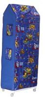 View baba ji enterprises PVC Collapsible Wardrobe(Finish Color - blue) Furniture (baba ji enterprises)