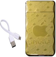 View Pia International iPHONE RECHARGEABLE FIRST QUALITY GOLDEN Cigarette Lighter(Gold) Laptop Accessories Price Online(Pia International)