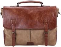 Portronics 15 inch Laptop Messenger Bag(Brown)