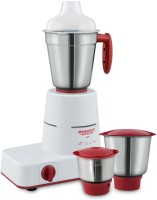 Maharaja Whiteline Solo MX 122 500 W Mixer Grinder(White, Red, 3 Jars)