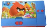 Techhark Jumbo Angry Angry Bird Art Plastic Pencil Box(Set of 1, Multi-Color)