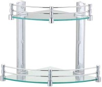 View Bedi Royal Glass Wall Shelf(Number of Shelves - 1, Clear) Furniture (Bedi Royal)