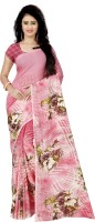 Anand Sarees Printed Fashion Faux Georgette Saree(Pink)