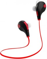 rejuvenate PROFESSIONAL QY7 JOGGER 4.1 Headset with Mic(Red, In the Ear)
