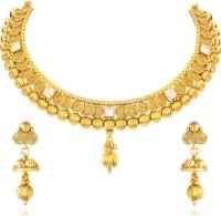 Divastri Alloy Jewel Set(Gold)