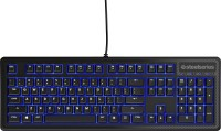 View SteelSeries Apex 100 Wired USB Gaming Keyboard(Black) Laptop Accessories Price Online(SteelSeries)