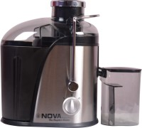 Nova NJE-2503 400 Juicer(Black, Silver, 1 Jar)
