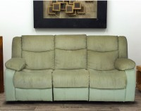 View peachtree Fabric Manual Recliners(Finish Color - Green) Furniture (peachtree)