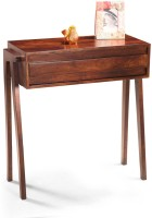 View Fischers Lifestyle Yoko Solid Wood Console Table(Finish Color - Walnut) Furniture (Fischers Lifestyle)