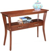 View Fischers Lifestyle Palmero Solid Wood Console Table(Finish Color - Teak) Furniture (Fischers Lifestyle)
