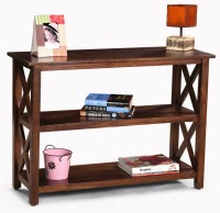 View Fischers Lifestyle Tivoli Solid Wood Console Table(Finish Color - Walnut) Furniture (Fischers Lifestyle)