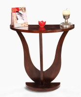 View Fischers Lifestyle Capri Solid Wood Console Table(Finish Color - Walnut) Furniture (Fischers Lifestyle)