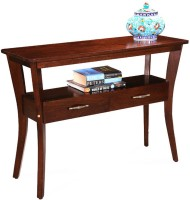 View Fischers Lifestyle Palmero Solid Wood Console Table(Finish Color - Walnut) Furniture (Fischers Lifestyle)