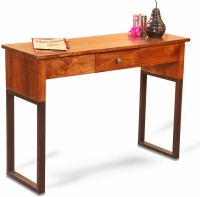 View Fischers Lifestyle Milano Solid Wood Console Table(Finish Color - Teak) Furniture (Fischers Lifestyle)