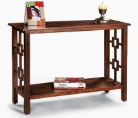 View Fischers Lifestyle Coorg Solid Wood Console Table(Finish Color - Walnut) Furniture (Fischers Lifestyle)