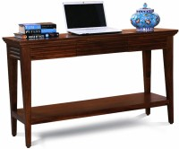 View Fischers Lifestyle Santorini XL Solid Wood Console Table(Finish Color - Walnut) Furniture (Fischers Lifestyle)