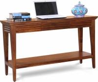 View Fischers Lifestyle Santorini XL Solid Wood Console Table(Finish Color - Teak) Furniture (Fischers Lifestyle)
