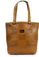 velina Women Brown Leatherette Shoulder Bag