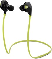 SHOPCRAZE Jogger FDS654 Headset with Mic(Green, Black, In the Ear)