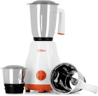 Billion Big Jar MG100 500 W Mixer Grinder(White, 3 Jars)