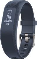 GARMIN Vivosmart 3 Smartband(Blue Strap, Size : Regular)