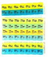 medlycare india Best Pill Box Combo Set Of 3 Medicine Dispenser - Price 235 85 % Off