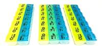 medlycare india Set Of 3 , Medicine Reminder Box Medicine Dispenser - Price 230 84 % Off