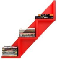 View khan handicrafts wooden wall shelf Wooden Wall Shelf(Number of Shelves - 1, Red) Furniture (Khan Handicrafts)