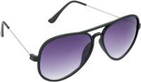 Hrinkar Aviator Sunglasses(Violet)