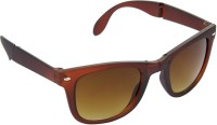 Hrinkar Wayfarer Sunglasses(Brown)