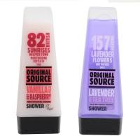 Original Source Vanilla and Lavender(200 ml, Pack of 2)
