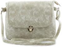 Creative India Exports Women White PU Sling Bag