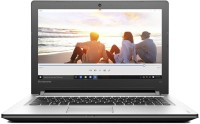 Lenovo IDEAPAD 300 Core i5 6th Gen - (4 GB 1 TB HDD DOS) 80Q700UVIH Notebook(15.6 inch SIlver)