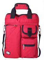 View Edifier 16 inch Laptop Tote Bag(Red) Laptop Accessories Price Online(Edifier)