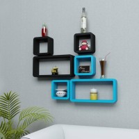 View VAS Collection Home Wooden Wall Shelf(Number of Shelves - 6) Furniture (VAS Collection Home)