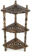 View Hindustan Mart Solid Wood Corner Table(Finish Color - brown) Furniture (HINDUSTAN MART)