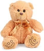 Starwalk Bear Plush Brown colour with Bronze Ribbon 80 cm - 80 cm(Multicolor)