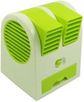 View Dice Mini Cooling USB Fan Portable fan USB Fan(Green) Laptop Accessories Price Online(Dice)