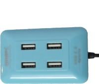 View QHMPL QHM6633 HM6633 USB Hub(Blue) Laptop Accessories Price Online(QHMPL)
