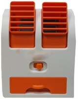 View BRAND mini cooler Personal Air Cooler(Orange, 10 Litres)  Price Online