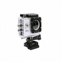 perito waterproof action camera yes Camcorder Camera(Silver)