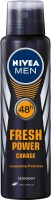 Nivea Fresh Power Charge Body Spray - For Men(150 ml)